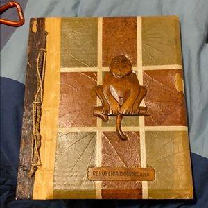 Dominican Republic Authentic Scrapbook